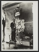 view Yasuo Kuniyoshi and a caricature of Hirohito digital asset number 1