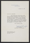 view Marvin Hunter McIntyre letter to Yasuo Kuniyoshi digital asset number 1
