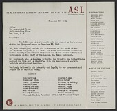 view Art Students League instructors letter of reference for Yasuo Kuniyoshi to the Associated Press digital asset number 1