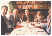 view Group of Men at Sardi's Restaurant digital asset number 1