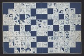 view Proof print for <em>Ballyhoo</em> magazine crossword puzzle digital asset number 1