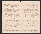 view William Morris Hunt, Albany, N.Y. letter to Rose Lamb, Boston, Mass. digital asset number 1