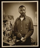 view Jacob Lawrence and Gwendolyn Knight papers, 1816, 1914-2008, bulk bulk 1973-2001 digital asset number 1