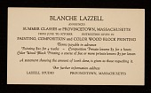 view Blanche Lazzell art classes announcement digital asset number 1