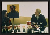 view Photograph of Andy Warhol with Kimiko Powers digital asset number 1