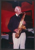 view John Powers playing sax at the Sopris Restaurant (Colorado) digital asset number 1
