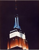 view Empire State Building lighted for the Bicentennial digital asset number 1