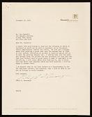 view Peter B. Bensinger, Chicago, Ill. letter to Leo Castelli, New York, N.Y. digital asset number 1