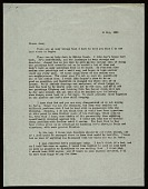 view Leo Castelli letter to Ileana Sonnabend digital asset number 1