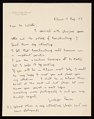 view Giuseppe Panza, Milan, Italy letter to Leo Castelli digital asset number 1