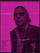 view Exhibition poster for John Chamberlain's <em>Soft & hard, recent sculpture</em> digital asset number 1