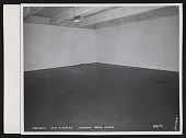 view Empty room in the Leo Castelli Gallery warehouse digital asset number 1