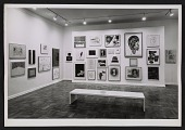 view An installation view of a benefit exhibition for the Foundation for Contemporary Arts digital asset number 1