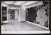 view Installation view of the Andy Warhol show at the Galerie Sonnabend in Paris digital asset number 1