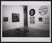 view Installation view of Lee Bontecou works in the <em>Americans 1963</em> exhibition at the Museum of Modern Art digital asset number 1