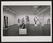 view Installation view of Roy Lichtenstein's <em>Sculptures</em> exhibition at 420 W. Broadway digital asset number 1