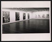 view Installation view of the Jasper Johns exhibition at the Leo Castelli Gallery digital asset number 1