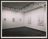 view Installation view of the <em>Jasper Johns</em> exhibition at the Leo Castelli Gallery digital asset number 1