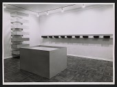 view Installation view of a Donald Judd exhibition at the Leo Castelli Gallery digital asset number 1