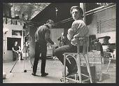 view Andy Warhol with Gerard Malanga filming Philip Fagan digital asset number 1