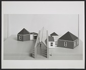 view A design by Cesar Pelli for the <em>Architecture II: Houses for Sale</em> exhibition at the Leo Castelli Gallery digital asset number 1