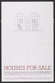 view <em>Houses for Sale</em> exhibition poster digital asset number 1