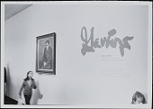 view Photographs of Retrospective Exhibition Installation at the Jewish Museum digital asset: Photographs of Retrospective Exhibition Installation at the Jewish Museum