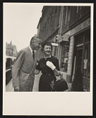 view Alexander Liberman papers digital asset: Liberman and Jessica Daves, Editor-in-Chief of Vogue Paris Collections
