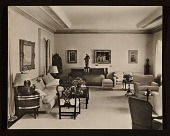 view Edward G. Robinson's home. View of living room digital asset number 1