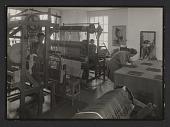 view Dorothy Liebes in the weaving studio digital asset number 1