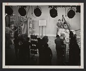 view Dorothy Liebes on the set of a television show digital asset number 1