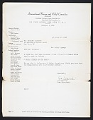view International Rescue Committee, 1945-1968 digital asset: International Rescue Committee, 1945-1968