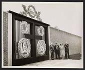 view Dedication of Monumental Gates, New Harmony, Indiana digital asset number 1