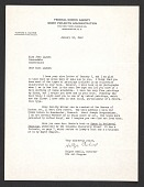 view Holger Cahill letter to Jean Lipman digital asset number 1
