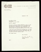 view Michael Milkovich letter to Marvin B. Lipofsky digital asset number 1