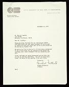 view Michael Milkovich, Binghamton, N.Y. letter to Marvin B. Lipofsky, Berkeley, Calif. digital asset number 1