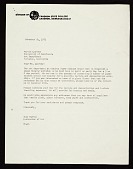 view Tony Martin, Chadron, Neb. letter to Marvin B. Lipofsky, Berkeley, Calif. digital asset number 1