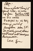 view Iain Baxter letter to Lucy R. Lippard digital asset number 1