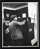 view Unidentified man at an exhibition of erotic art digital asset number 1