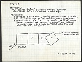 view Instructions and diagram for a Richard Serra sculpture installation digital asset number 1