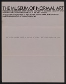 view Sheet of Museum of Normal Art stationery sent from Joseph Kosuth to Lucy Lippard and John Chandler digital asset number 1