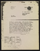 view Photocopy of Orders & Co. postcard to Uruguayan President Jorge Pacheco Areco digital asset number 1
