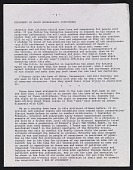 view Statement by David Wojnarowicz digital asset number 1