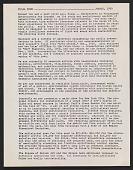 view Pulsa memorandum to Lucy R. Lippard digital asset number 1