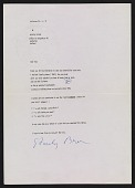view Stanley Brouwn, Amsterdam, Netherlands letter to Lucy R. Lippard digital asset number 1