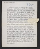 view Harmony Hammond letter to Lucy R. Lippard digital asset number 1