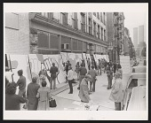 view Photograph of recreation of Brigada Ramona Parra mural in New York digital asset number 1