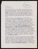 view Alan Gussow letter to Lucy R. Lippard digital asset number 1