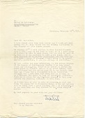 view Erwin Eisch letter to Harvey K. Littleton digital asset number 1