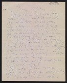 view Willem de Kooning letter to Michael Loew digital asset number 1